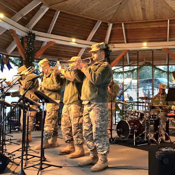 Photo: Free Concert featuring Army Bands